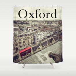 Oxford gargoyle Shower Curtain