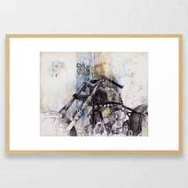 Deus Ex Machina Motorbike I Framed Art Print