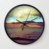 the national Wall Clocks featuring National Forest by Christel Sayegh
