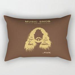 The Deeper the ROOTS — Music Snob Tip #073.5 Rectangular Pillow