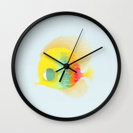 Bajo del mar Wall Clock