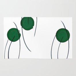 Green Drops Rug