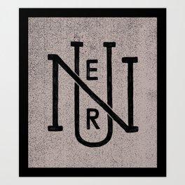 Nuer 2 Art Print