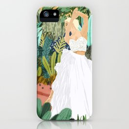 Forest Bride iPhone Case