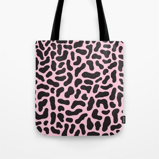Abstract Pattern 001 - Pink Tote Bag