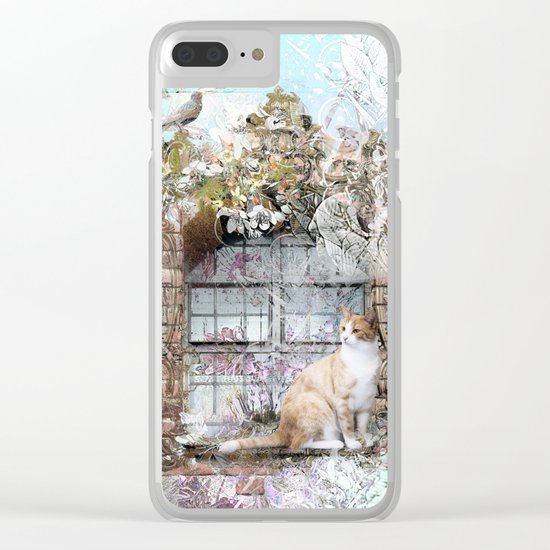 Morning has Broken Clear iPhone Case