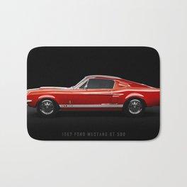 1967 Ford Mustang GT 500 Bath Mat