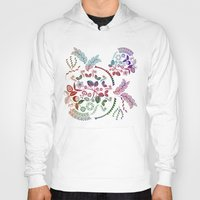 vintage floral Hoodies featuring Floral by famenxt