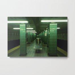Tasker And Morris: Underground Metal Print