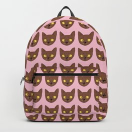 Chocolate cat Backpack