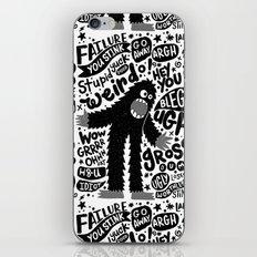 internal monologue iPhone & iPod Skin