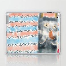 Rawr or Meow?  Laptop & iPad Skin