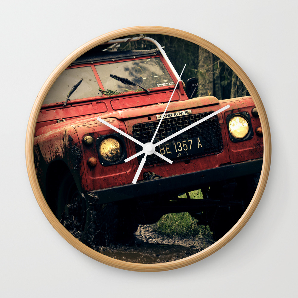 Off Road Wall Clock by Pointlesslyofficial CLK8852308