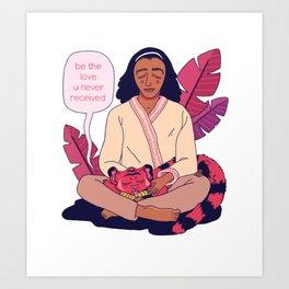Be the Love Art Print