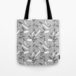 Gorgeous Knife (Greyscale) Tote Bag