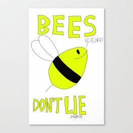 Bees Don't Lie - Jupiter Ascending Canvas Print