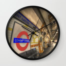 Covent Garden Tube station Wall Clock