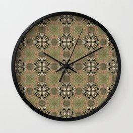 Pelvic Diamonds Wall Clock
