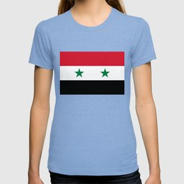 Syrian flag - may PEACE prevail T-shirt