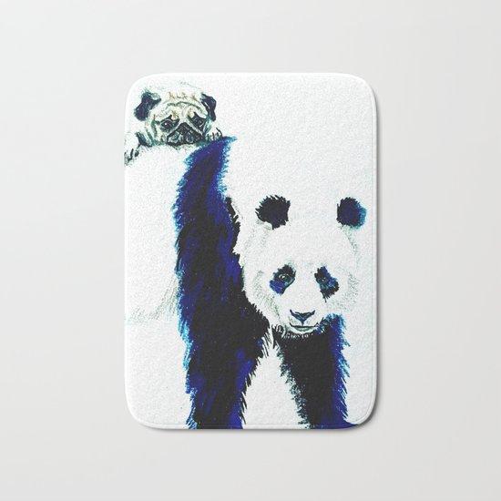 Pug and Panda Bath Mat