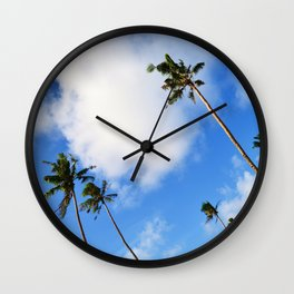 Tropical Sky Wall Clock