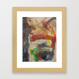 The Eye (You Know Who) Framed Art Print