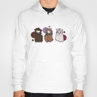 nori Hoodies featuring Dwarpaca family #3 by Lady Cibia