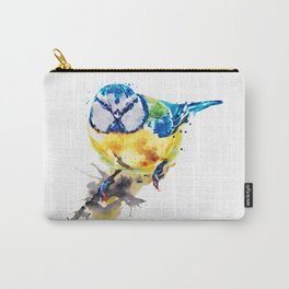 Tiny Colorful Bird Carry-All Pouch