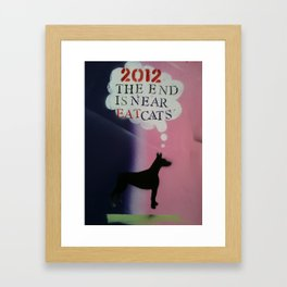 2012 End is Near Framed Art Print