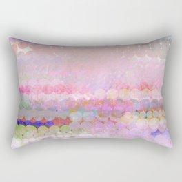 pastel pink pattren Rectangular Pillow