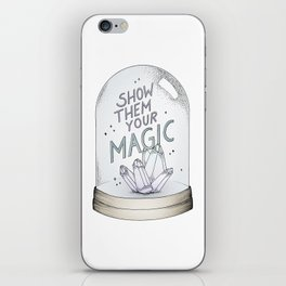 Show them your magic iPhone Skin