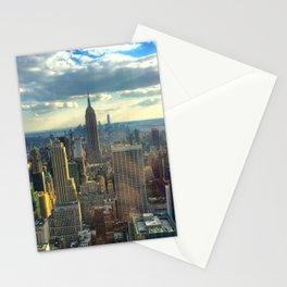 View Of New York City Stationery Cards