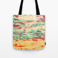 wooden Tote Bags featuring Wooden Pattern by Patterns and Textures
