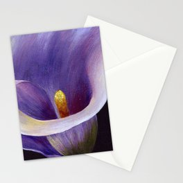 Lavender Calla Lily Stationery Cards