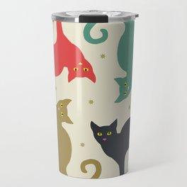 Cats and Cream Travel Mug
