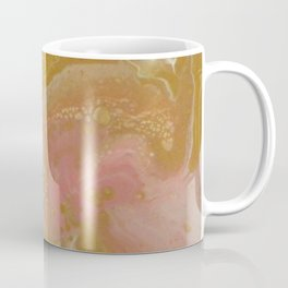 Pink Swirl, Abstract Fluid Acrylic Coffee Mug