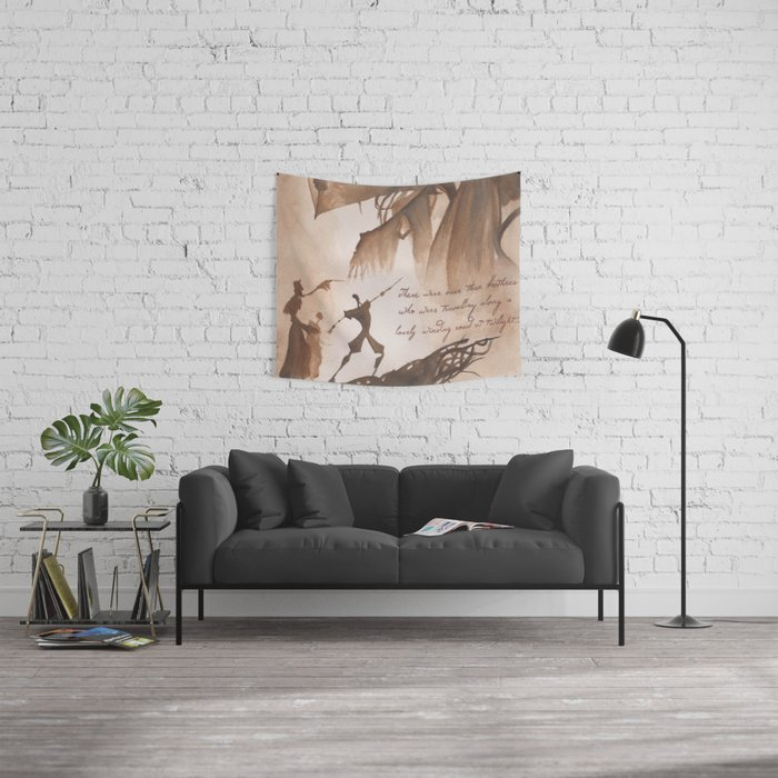 The Tale of Three Brothers Wall Tapestry