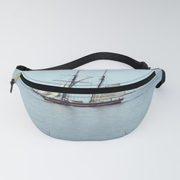 Sailing back in time Fanny Pack