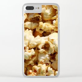 Salty Popcorn – Clock 9 - Living Hell Clear iPhone Case