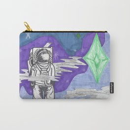 the outer unseen Carry-All Pouch