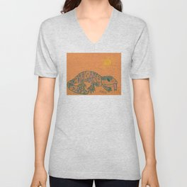 Gila Monster Unisex V-Neck