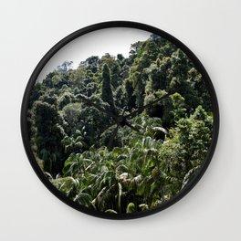 Rain forest Wall Clock