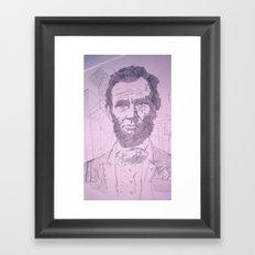 Five Dollar Synopsis For Abraham Framed Art Print
