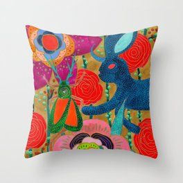 You Don't Have To Go Home, You Can Stay Here Throw Pillow