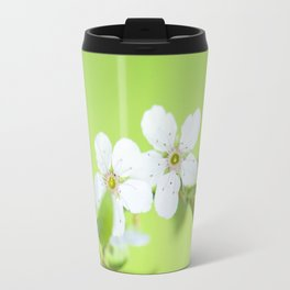 Cherry blossom tree in the green Travel Mug