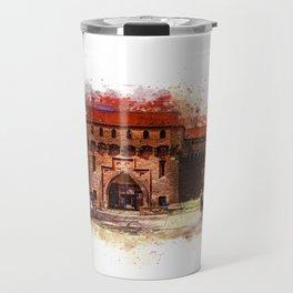 Barbican, Cracow Travel Mug