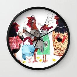 PTA Meeting Wall Clock