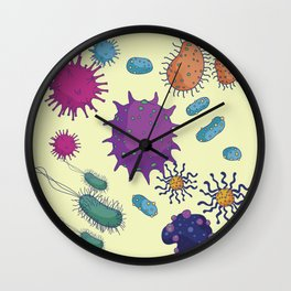 New Life Form Wall Clock