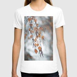 Autumn Birch Leaves T-shirt