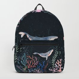 Whales and Coral Backpack